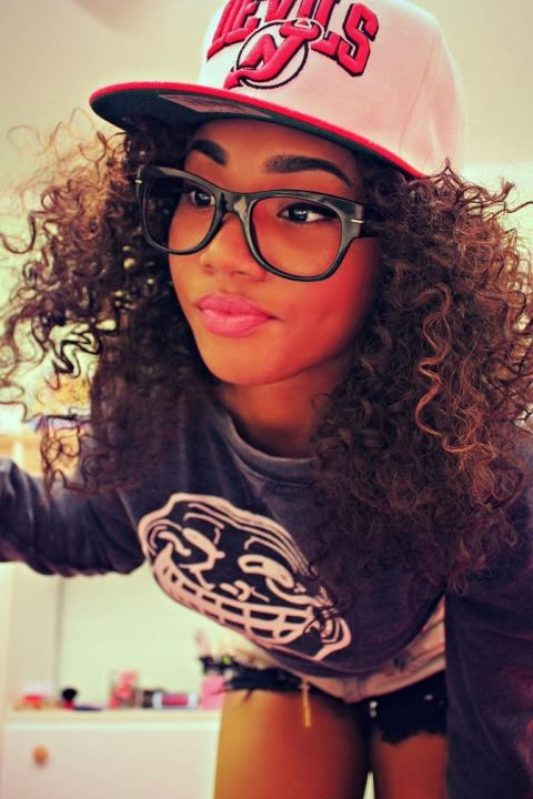 Nerdy Hip Hop Beauty Geek I So Want My Hair Like That With