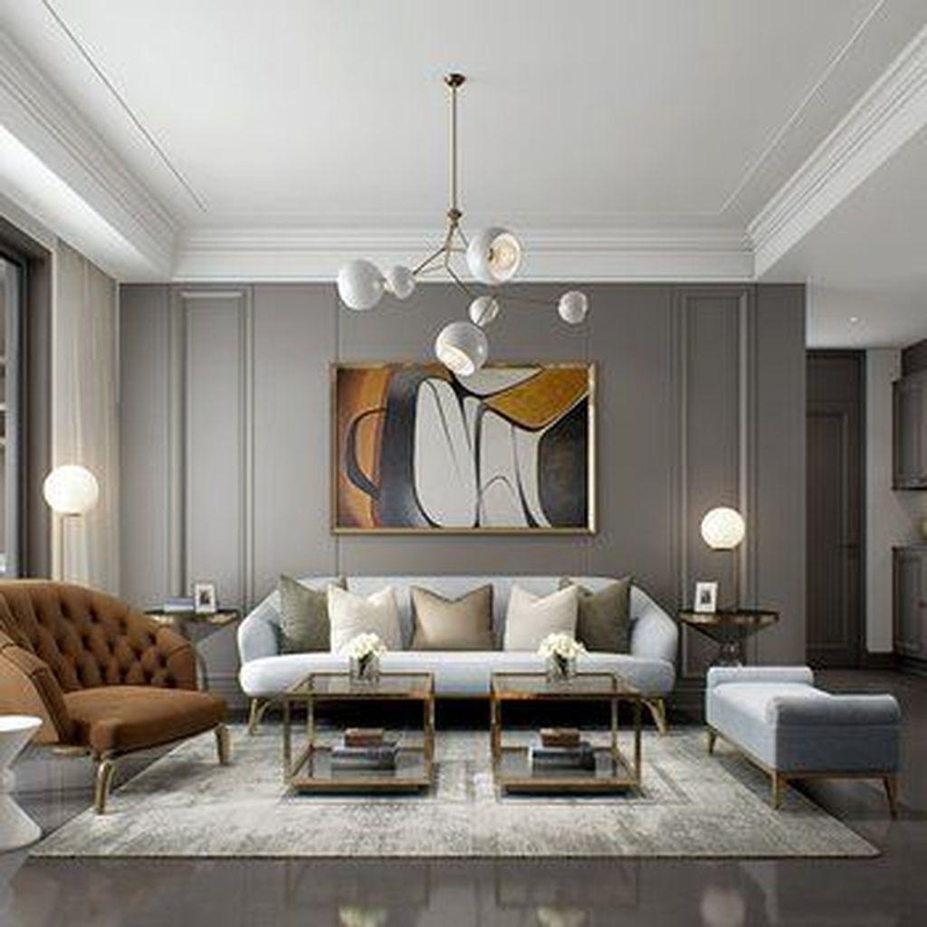 9+ Spectacular Contemporary Living Room Interior Designs Ideas To