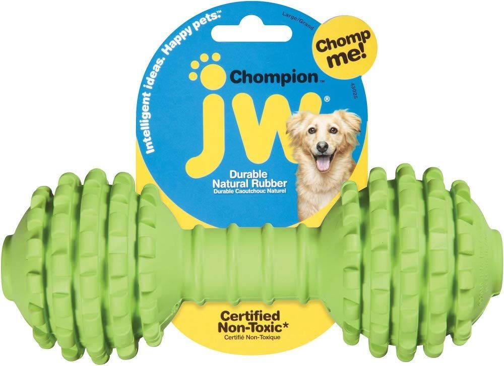 Jw Pet Company Chompion Dog Toy Colors Vary Company Chompion