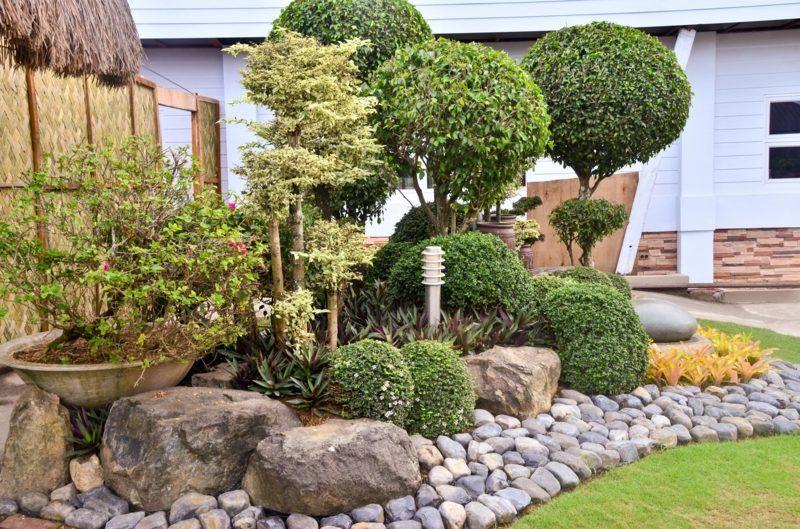 Gartengestaltung mit Steinen u2013 praktische Tipps und 23 tolle Ideen garten Steingarten design