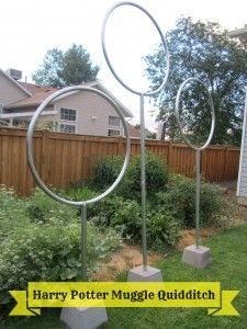 Harry Potter Muggle Quidditch Idees Jardin Idee Anniversaire