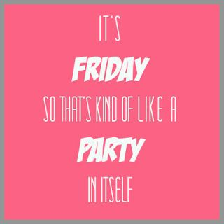 It's a Friday Pink Party via Classy with a Kick