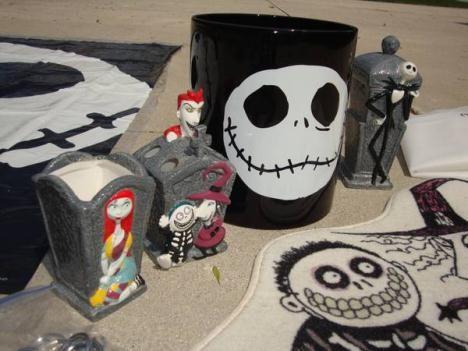 jack bath items wish list pinterest bath jack skellington and hallowen party. Black Bedroom Furniture Sets. Home Design Ideas