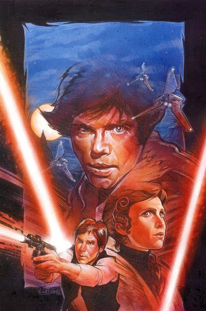 Cover art by Mathieu Lauffray for 'Star Wars: Dark Force Rising' issue #2, published June 1997 by Dark Horse Comics