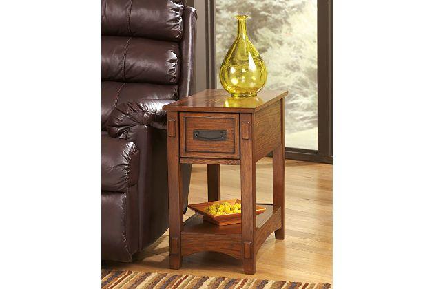 Brown Breegin Chairside End Table View 1