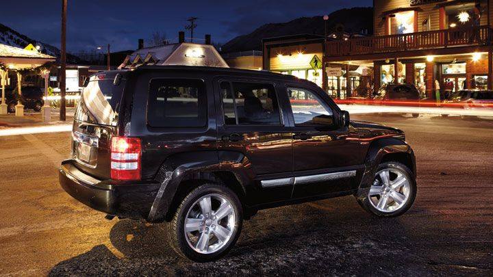 Jeep® Liberty Jet Edition Shown In Brilliant Black Crystal Pearl. Facebook:  Https: