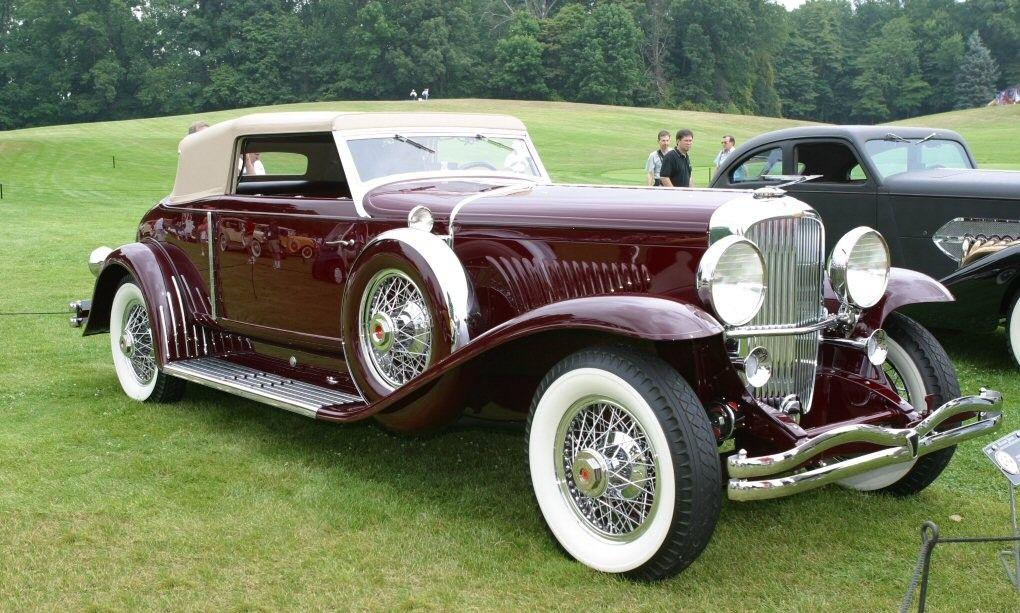 Rollston Duesenberg J Convertible Victoria 1933
