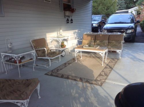 find this pin and more on vintage wrought iron patio furniture by