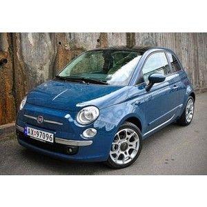 si uno puede tener un crush con un carro, sería con este... Fiat 500