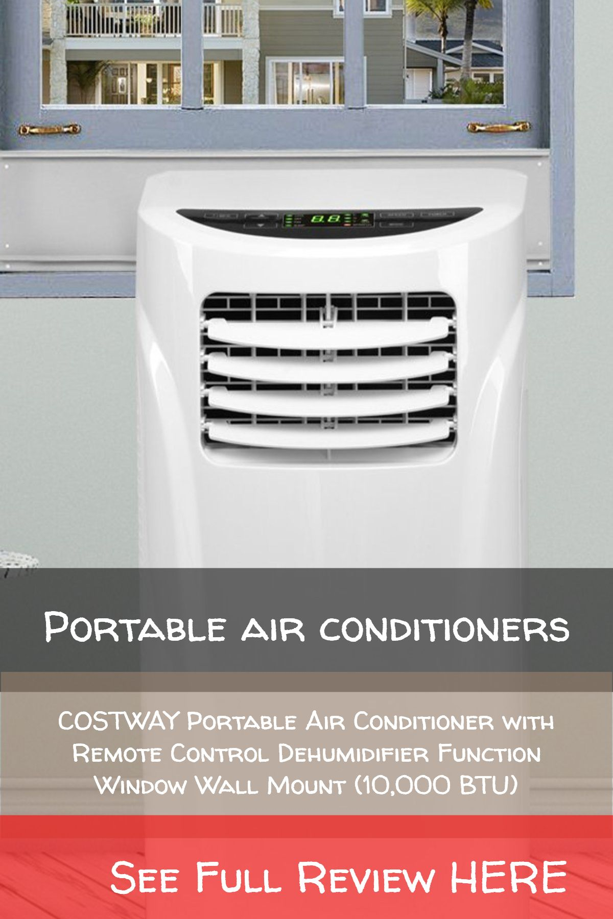 Portable air conditioners / COSTWAY Portable Air