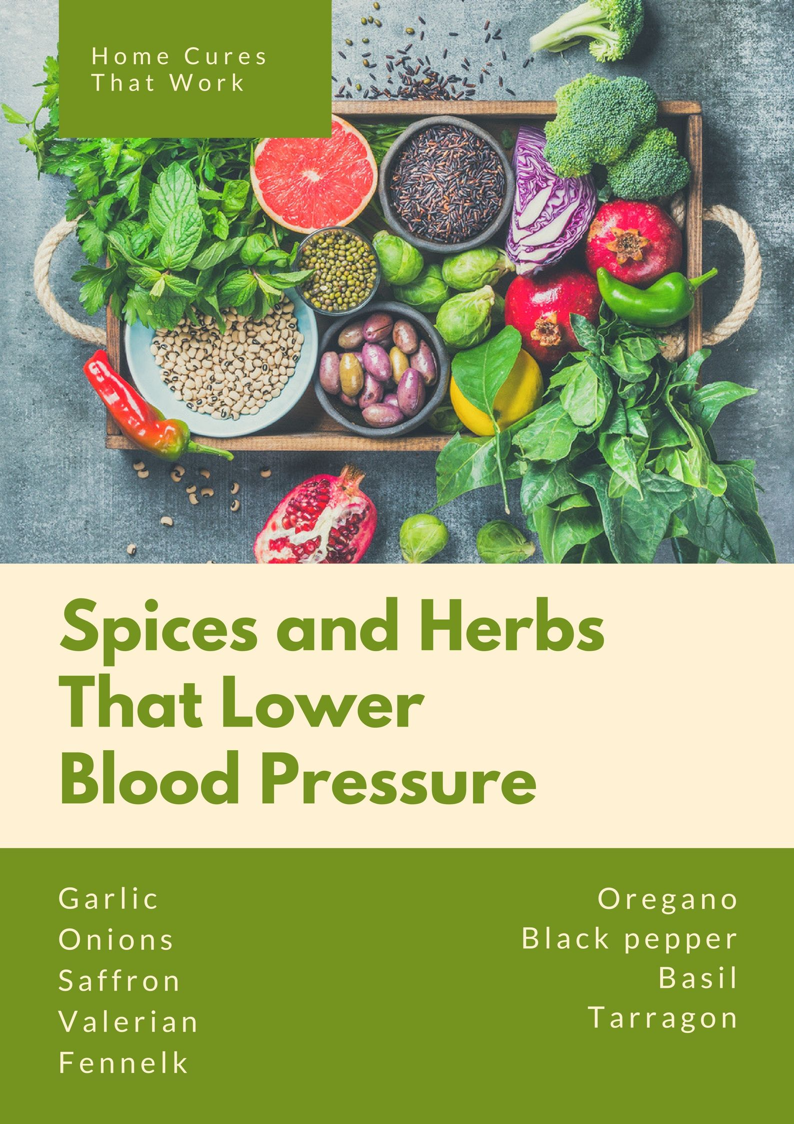 home cures from the kitchen to reduce high blood pressure | natural