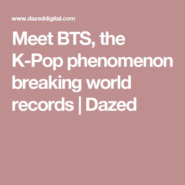 Meet the K-Pop phenomenon breaking world records | BTS