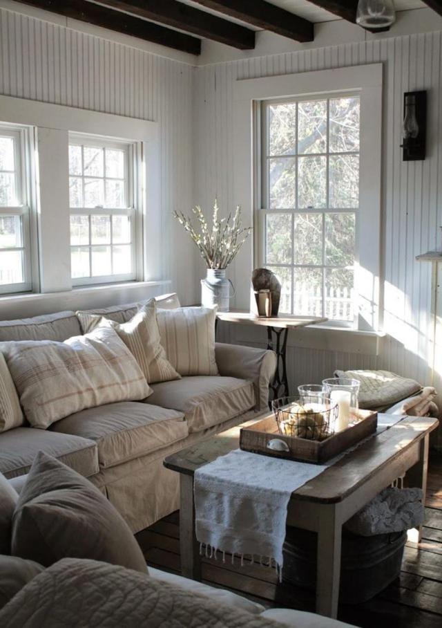 32 Charming Farmhouse Living Room Furniture Ideas | Farm ...