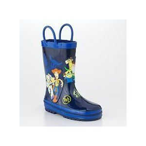 345c6d5ea5 Amazon.com  Toddler Boys Disney Size 8 - 9 Toy Story Rain Boots shoes Blue  WOODY Buzz Lightyear  Shoes . my 4 yr old needs rain boots too