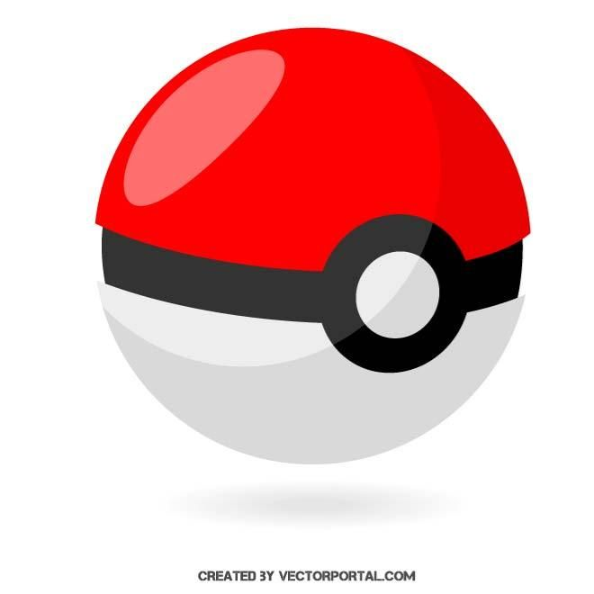 pokeball vector. | various vectors | pinterest