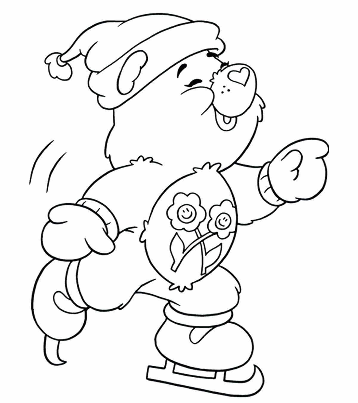 Winter Coloring Activities Unique Coloring Pages Seasons Weather Shoppage In 2020 Bear Coloring Pages Cartoon Coloring Pages Disney Coloring Pages