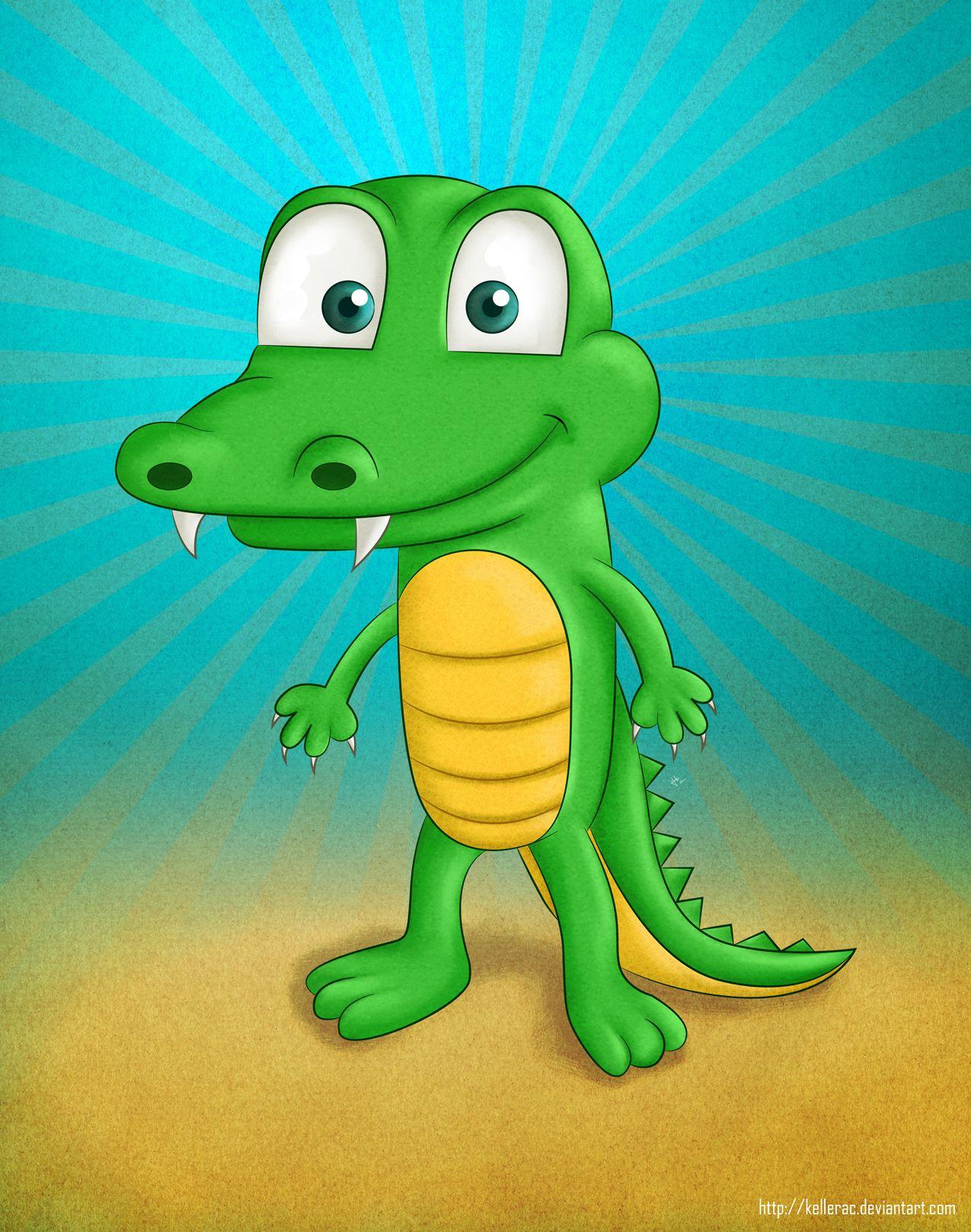 Cartoon Crocodile Cocodrilo De Caricatura Animal