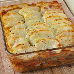 Leftover Turkey Cottage Pie - in either of 2 easy ways.