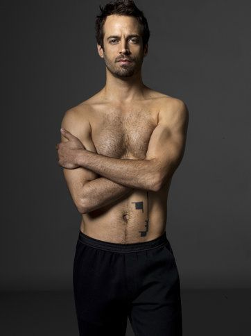 Dancer and choreographer Benjamin Millepied