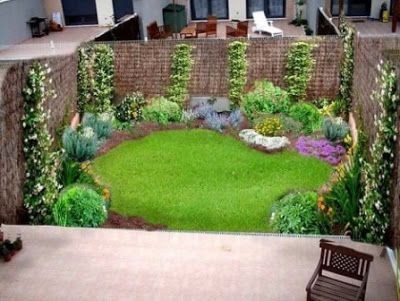 15 Brillantes Ideas para Decorar Jardines en Patios Pequeos