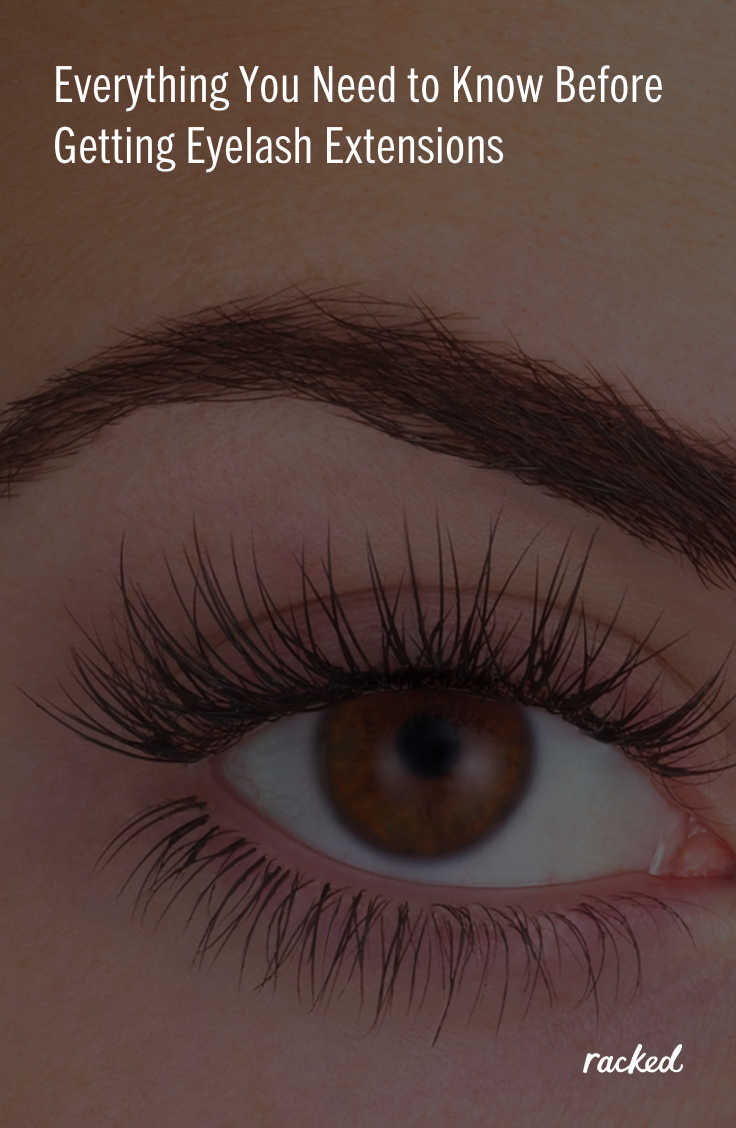 The Beginners Guide To Eyelash Extensions Beauty Pinterest