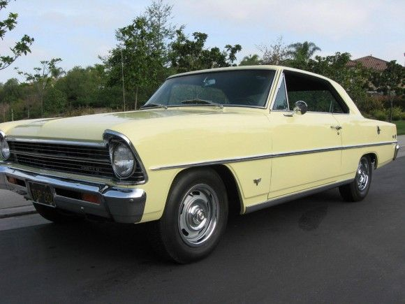 1967 Chevrolet Chevy Ii Nova Sport Coupe Project Cars For Sale Cars For Sale Chevrolet Nova