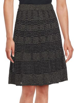 M MISSONI Metallic Patterned Skirt. #mmissoni #cloth #skirt