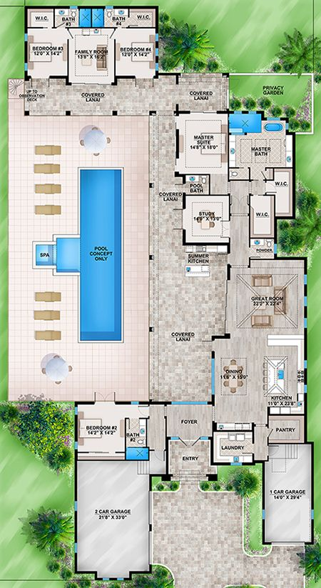 Contemporary House Plan 207-00034