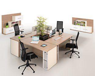 Ensemble de bureau open space s adapte à vos besoins office