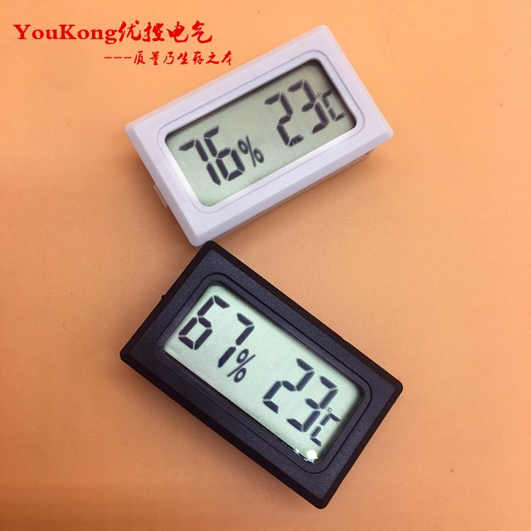 thermometer hygrometer lcd display feuchtigkeit meter touch screen.