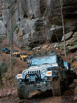Trail Riding With The Kentucky Krawlers 4wd Sport Utility