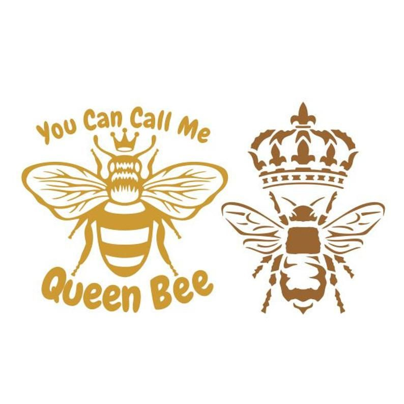 You Can Call Me Queen Bee Royals Cuttable Design Svg Png Dxf Etsy Queen Bees Bee Decals Bee