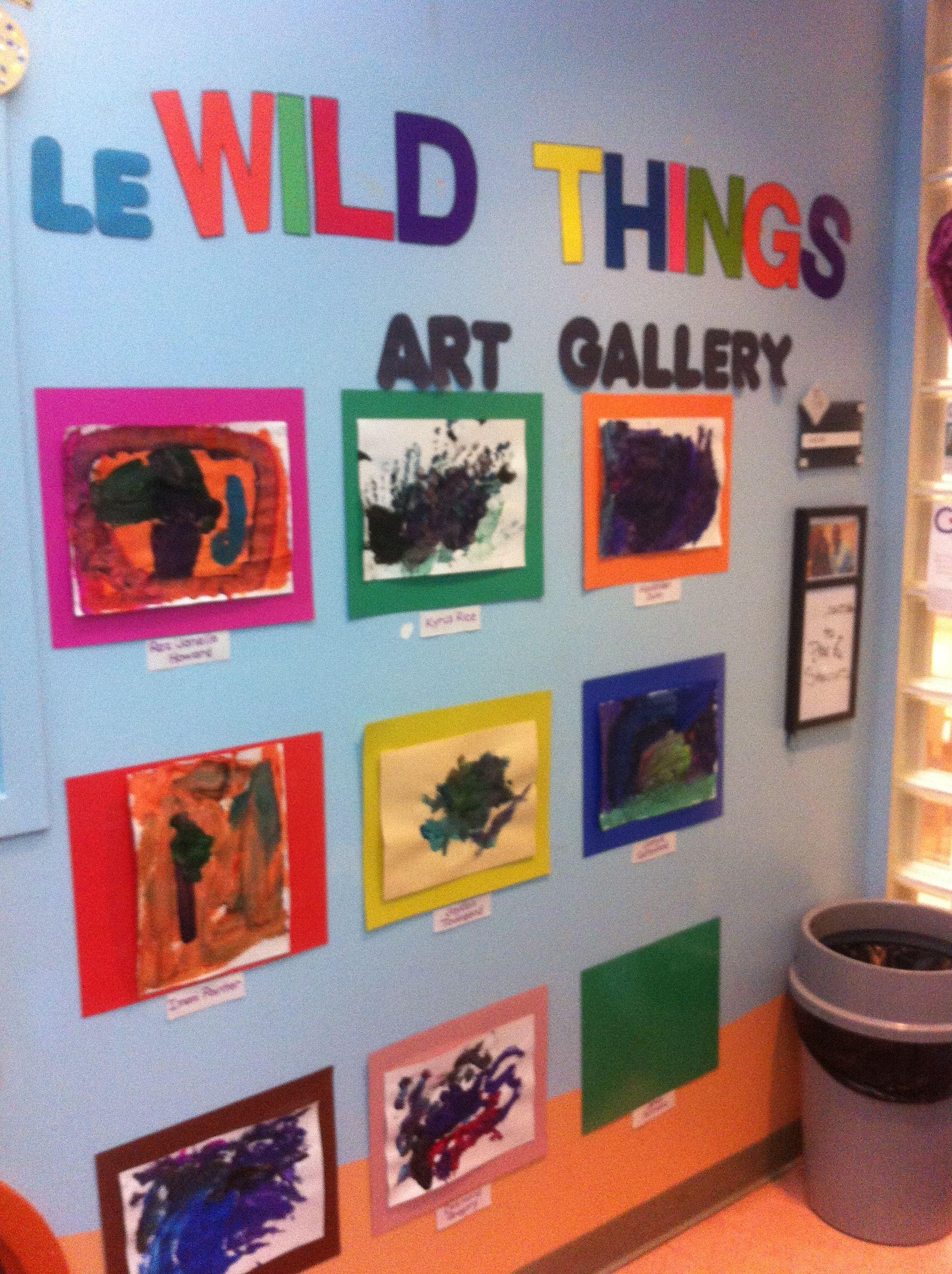 Pre- Art Wild Preschool Educational Activities