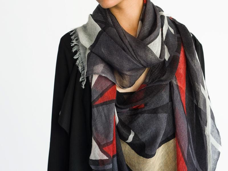 Catch Cashmere Scarf by Cats & Ghosts | Scarves | AHAlife.com