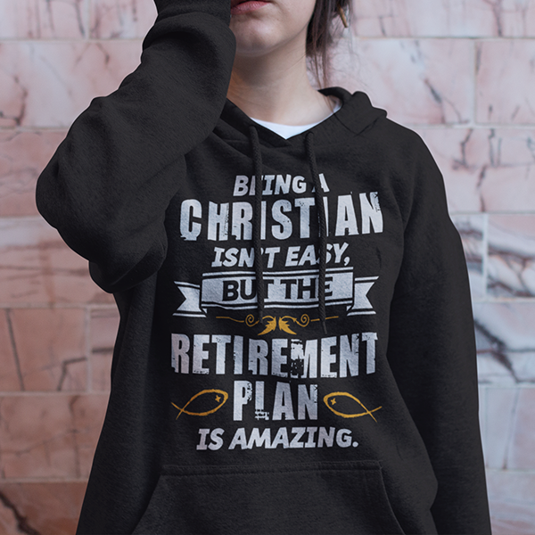 Being a Christian is not easy Christian hoodie | Christian apparel