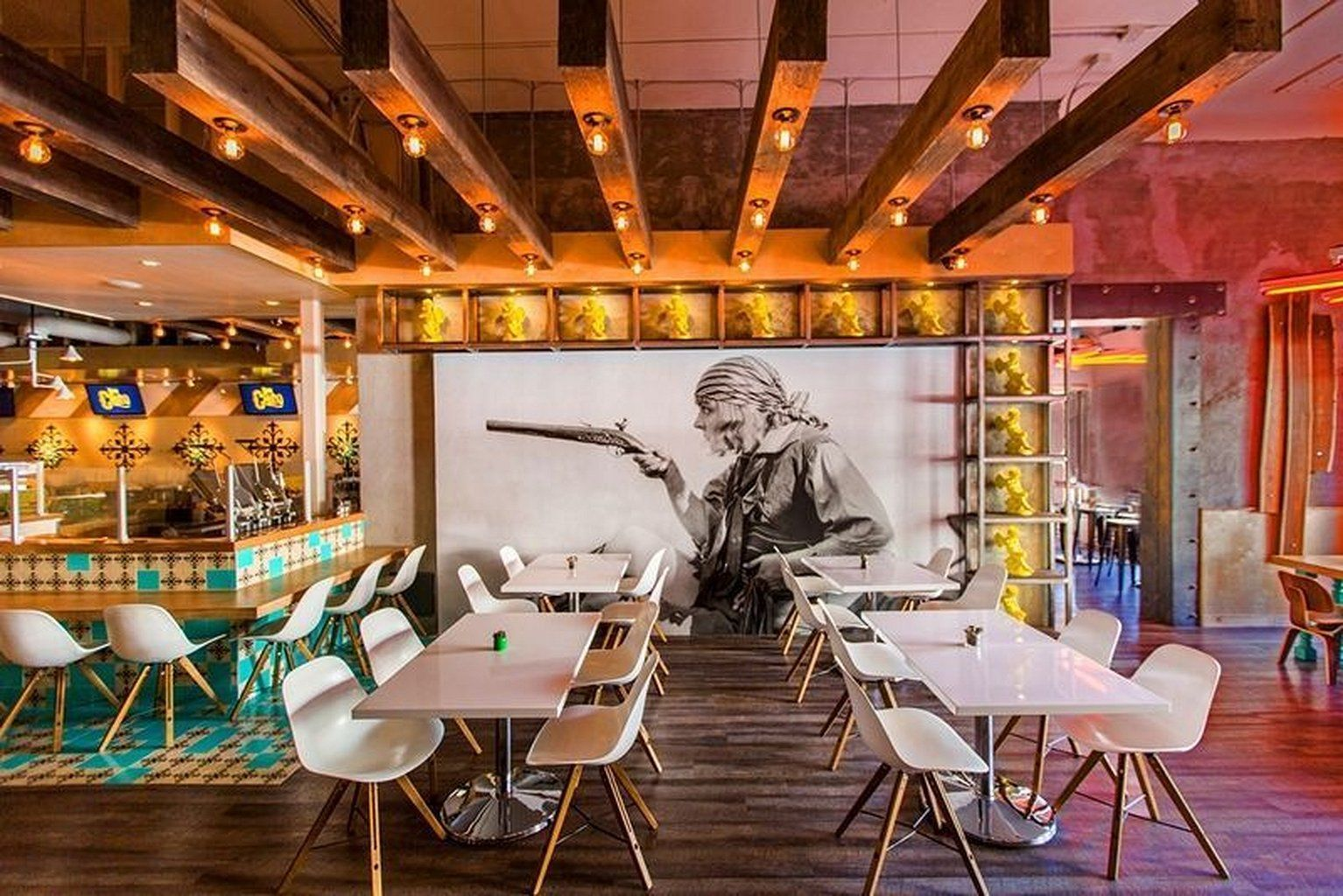 Cafe Interior Ideas Creative 29 | Restaurant interior design, Cafe ...
