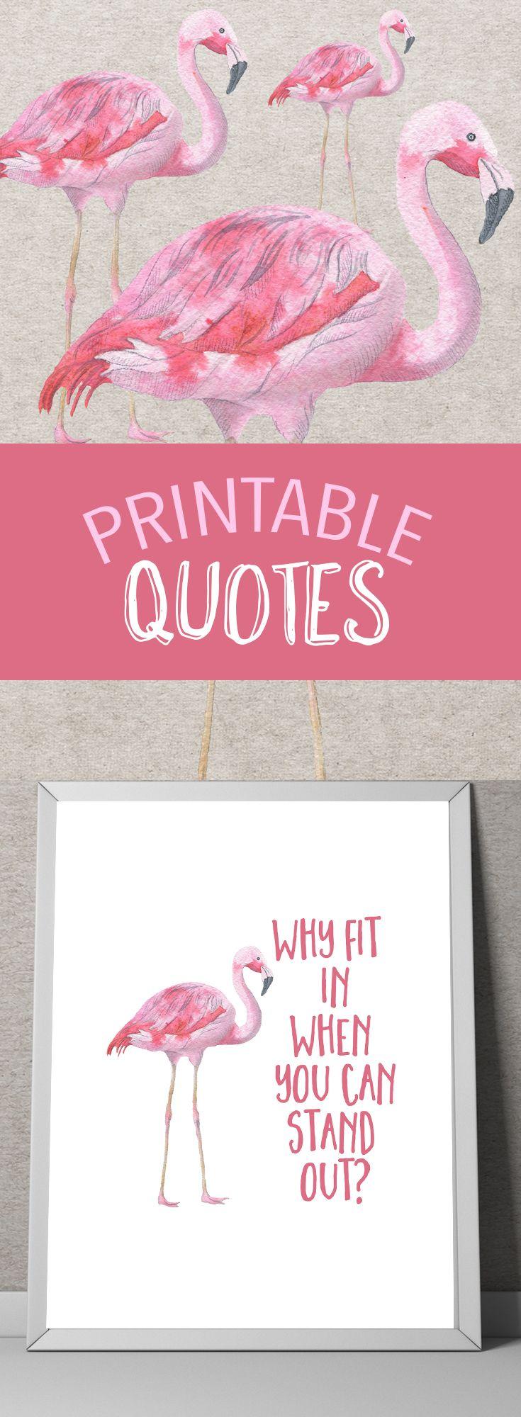 Printable quote art Printable art Printable wall art