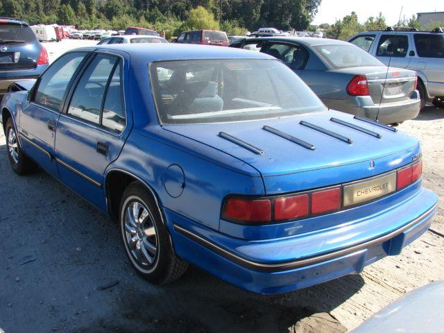 Salvage Chevrolet Lumina 2 5l 4 1990 Chevrolet Lumina Chevrolet