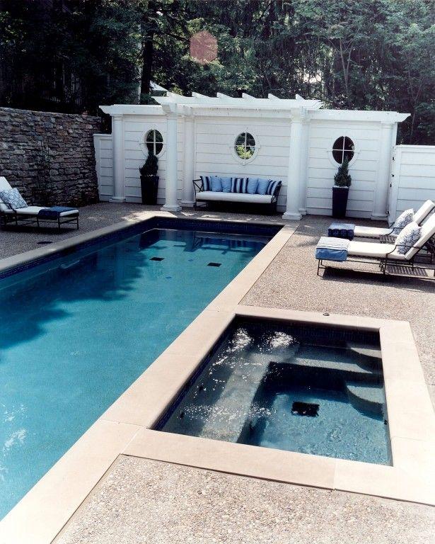 Cinder Block Hot Tub Hot Tub And Outdoor Sofa Plus
