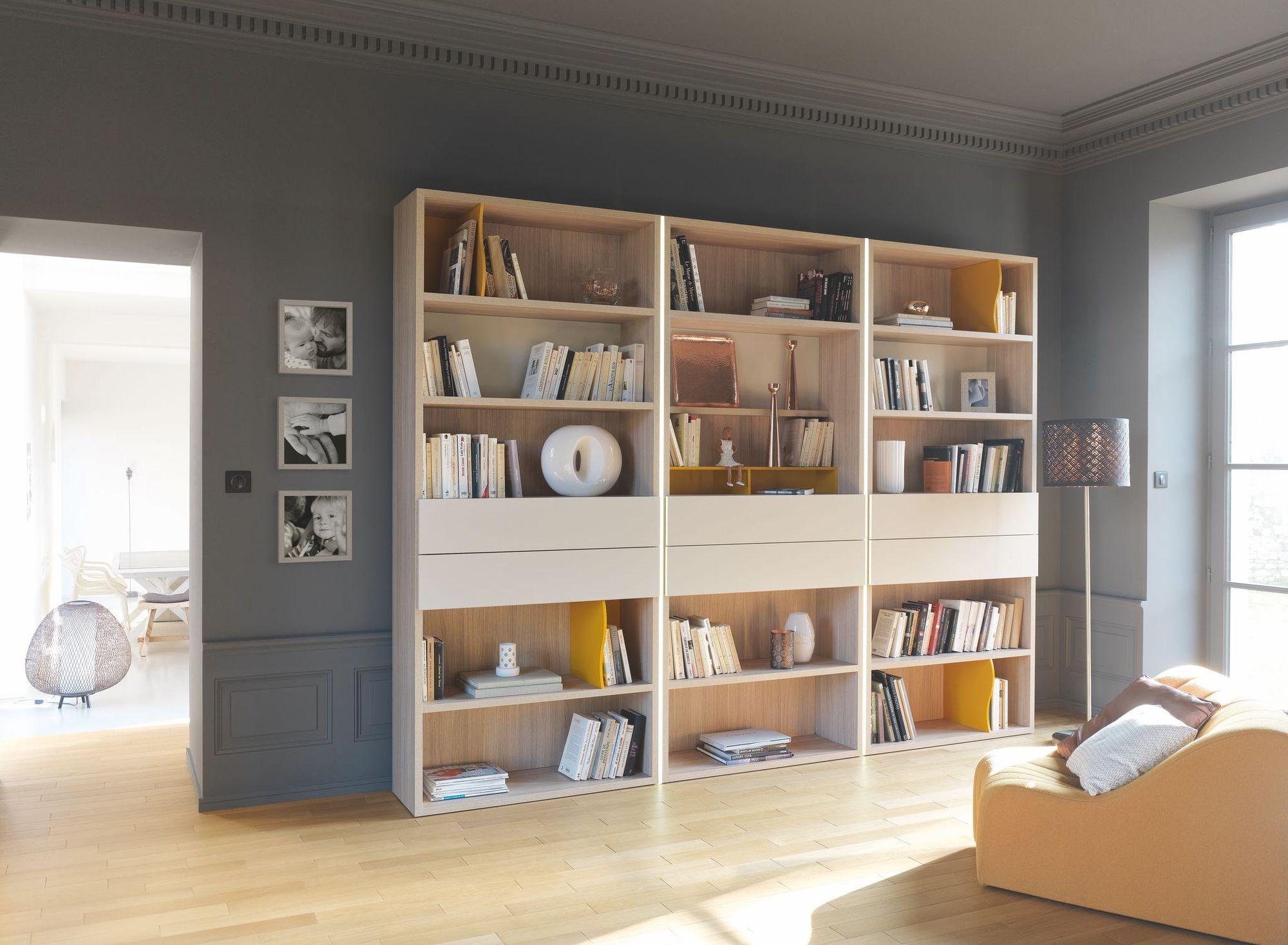 Rangement livres : meubles pratiques et originaux  インテリア