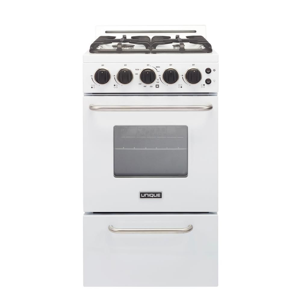 Cu Ft Gas Convection Range Sealed
