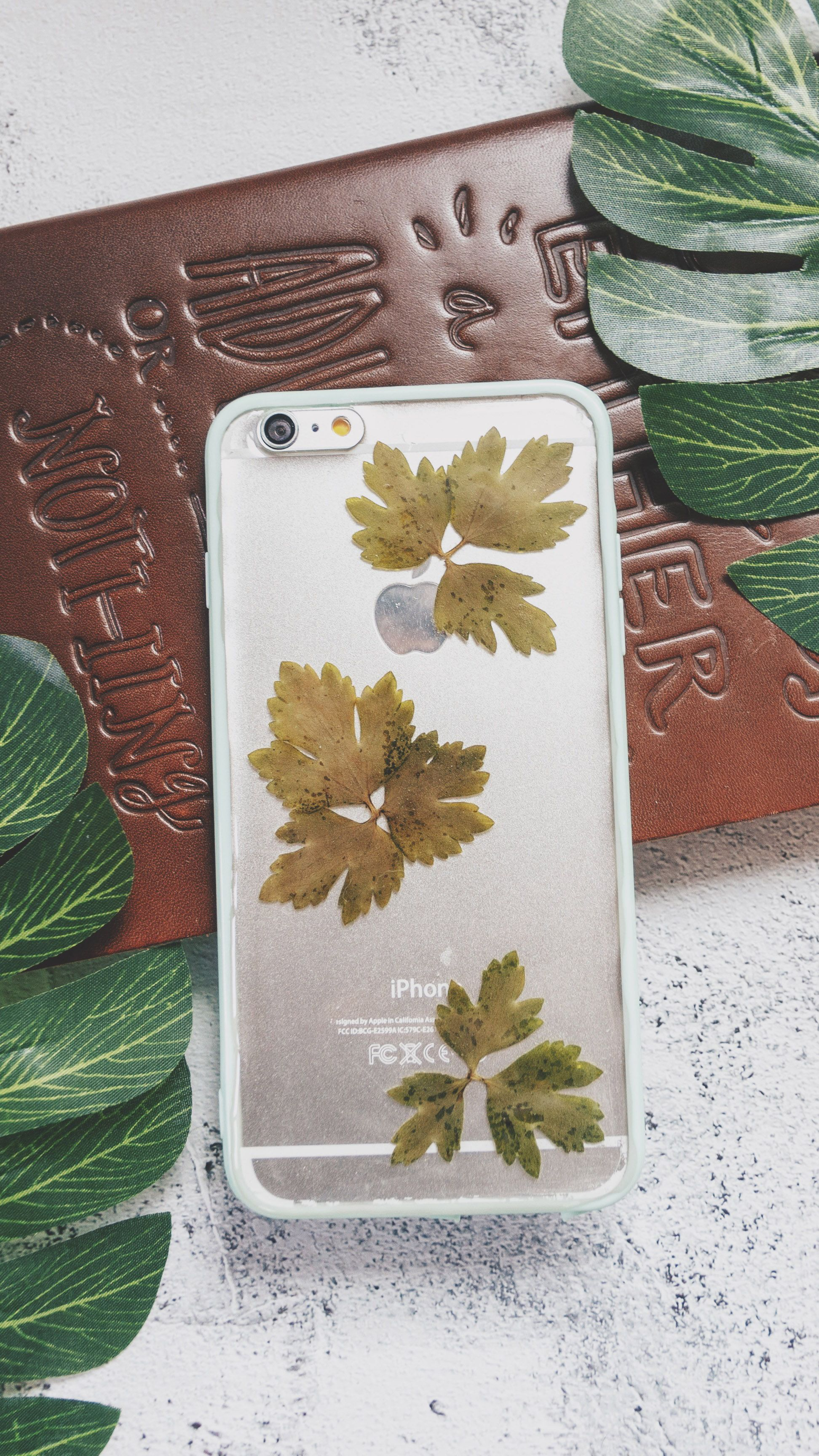 Moss Pressed Flower Iphone Bumper Case Iphone 6 6s Plus