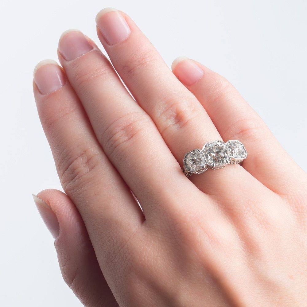 the rings we too vintage halo pin baguettes with gradual reset ring incorporated your stone shape our oval and her love using feel like an nice engagement customers baguette big wedding i is diamond