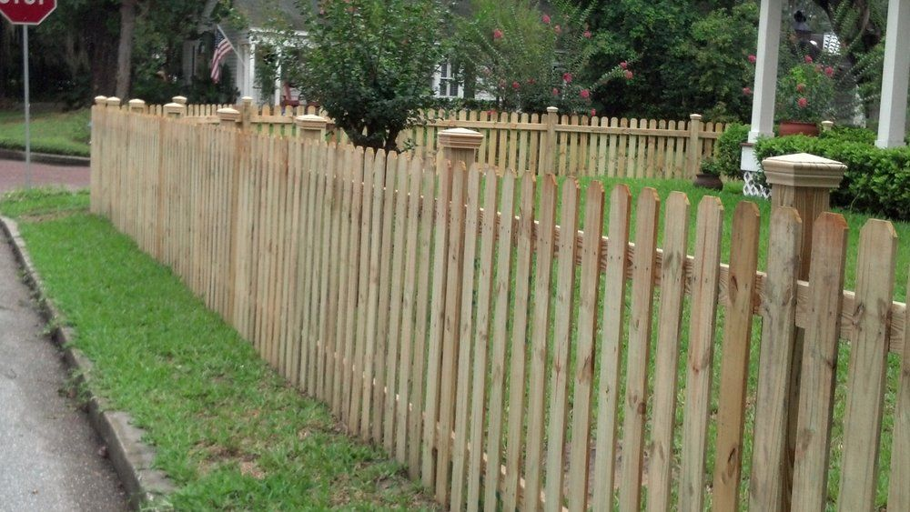 4 foot tall picket fence with optional post caps fence for 4 foot fence ideas