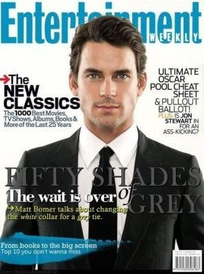 Matt Bomer's '50 Shades of Grey' Magazine Cover Is a Preview of What's to Come