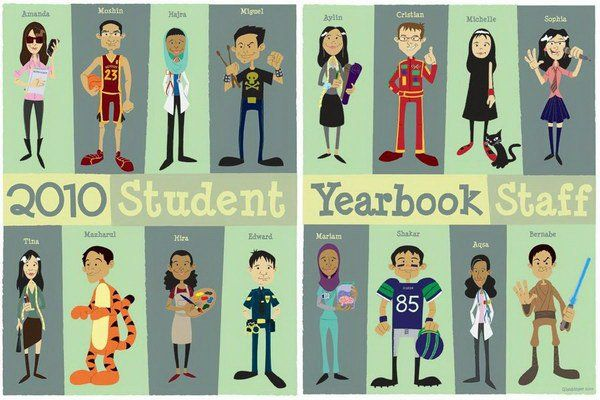 30 beautiful yearbook layout ideas yearbook layouts