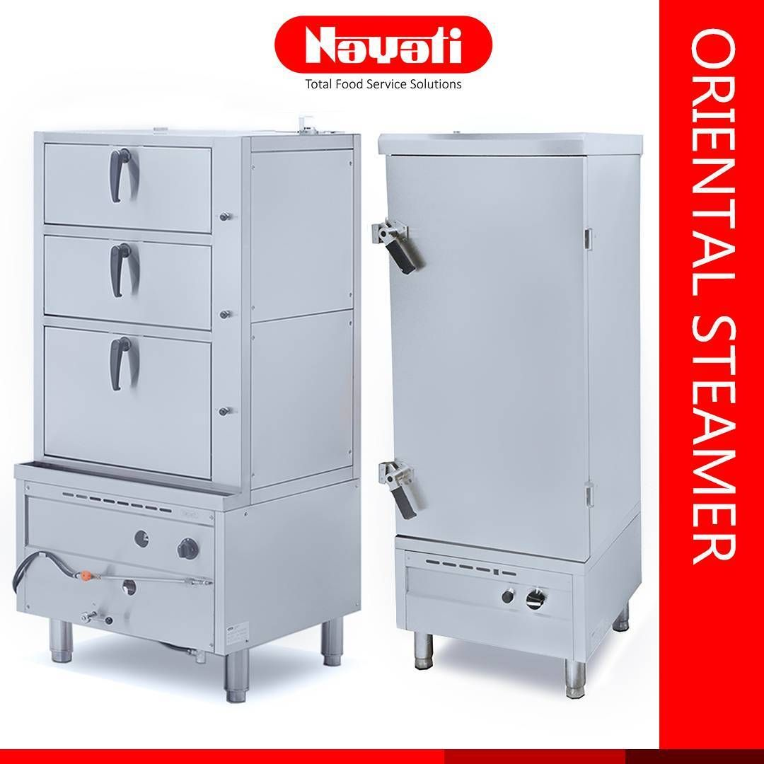 Oriental Steamer with comfort and hygiene for professional kitchen ...