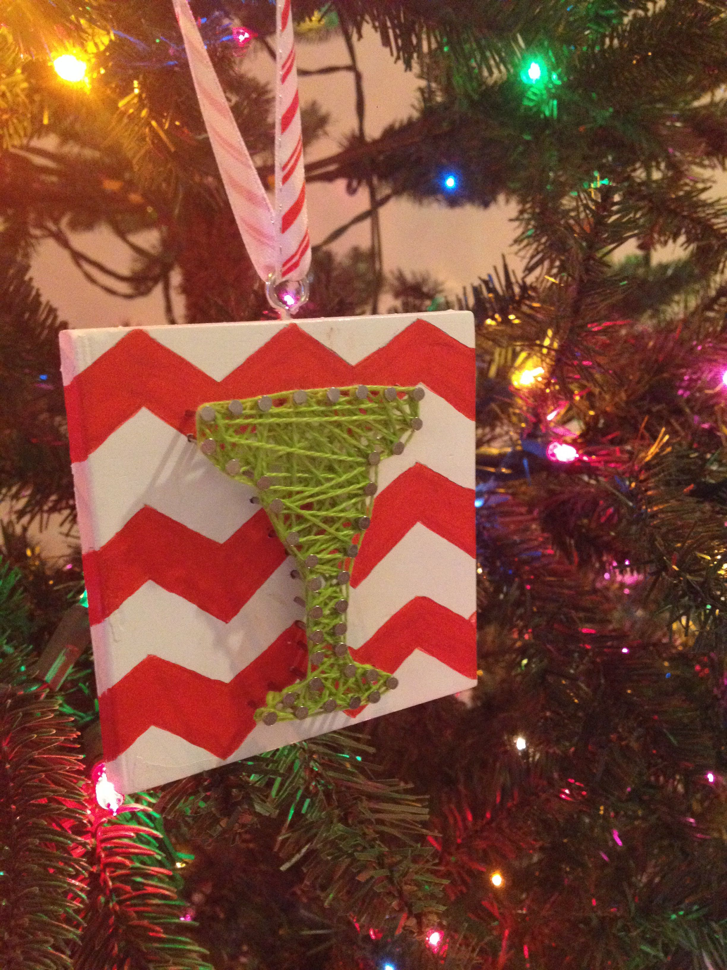 Margarita ornament - Margarita Nail And String Ornament