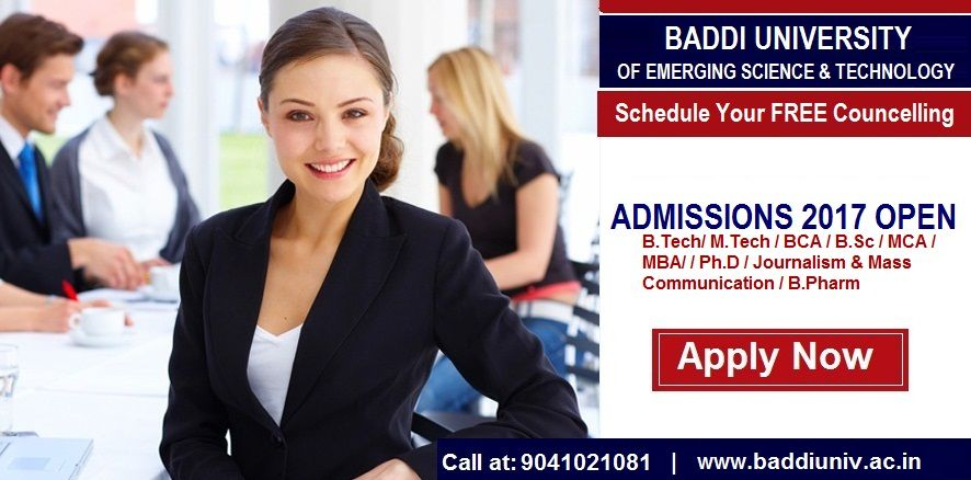 #admissions #2017 #open In #Baddi #University, The #best