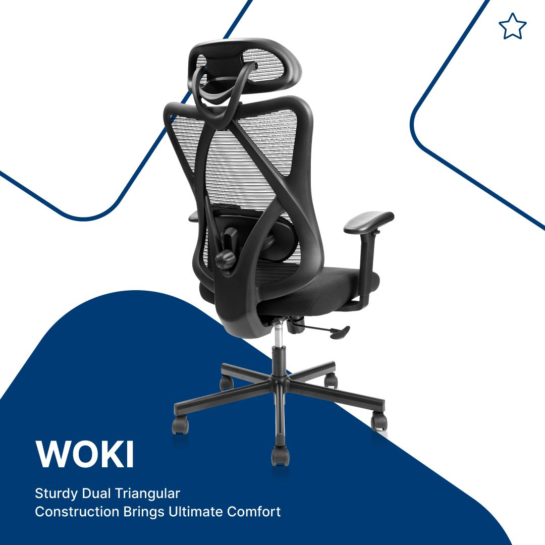 No matter office work or work from home, Woki ergonomic chair is a smart choice 😍 _  #Furngo #directsourcing #greatervalue #furniture #furnituredesign #officefurniture #homefurniture #chair #chairs #chairdesign #ergonomic #ergonomicchair #ergonomicdesign #homeoffice #homedecor